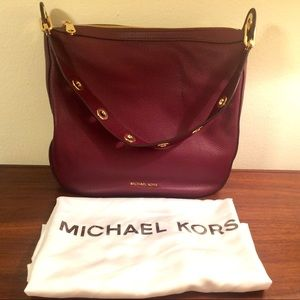 MICHAEL Michael Kors Raven leather shoulder bag